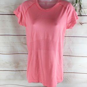 Lululemon Coral Pink Swiftly Shortsleeved Tee
